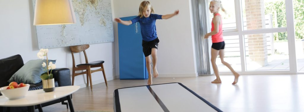 Airtrack hjemme bruk - optimere din gymnastik træning