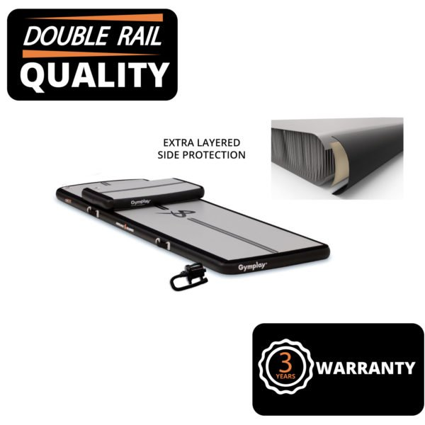 AIRTRACK DOUBLE RAIL SIDE PROTECTION.