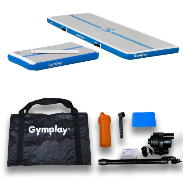 Gymplay airtrack trainer kit package content